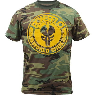 Worldwide-mfp  Camo T-Shirt