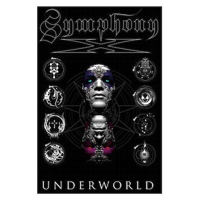 Underworld Album Cover Textile Flag