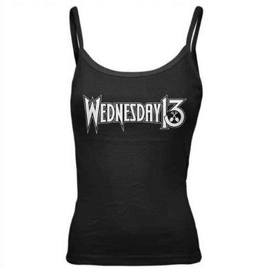 WEDNESDAY 13 Logo Casket Spag Strap