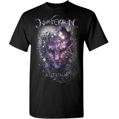 Wintersun Autumn I Am Death Black T-Shirt