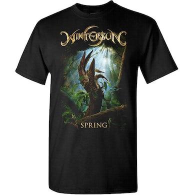 Wintersun Spring Born Again Black T-Shirt