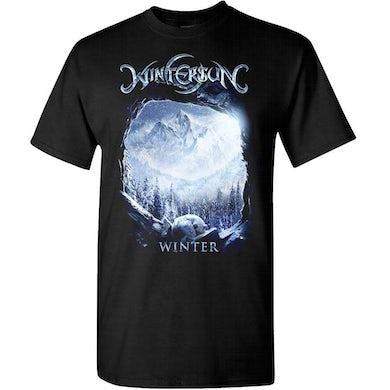 Wintersun Winter Washed Away Black T-Shirt