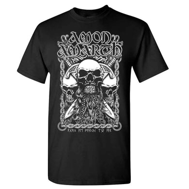 AMON AMARTH Bearded Skull T-Shirt