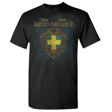 AMON AMARTH Sweden Black T-Shirt