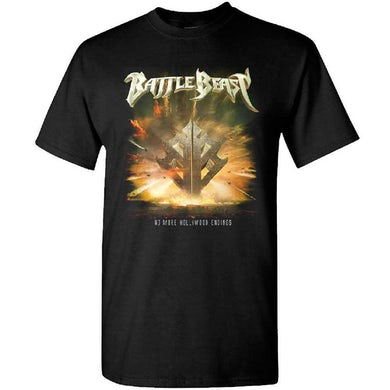 BATTLE BEAST No More Hollywood Endings T-Shirt