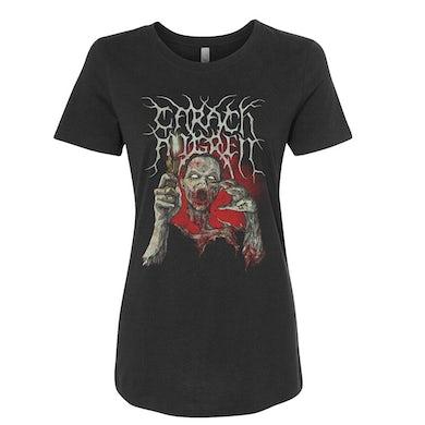 CARACH ANGREN Blood Queen Black Ladies T-Shirt