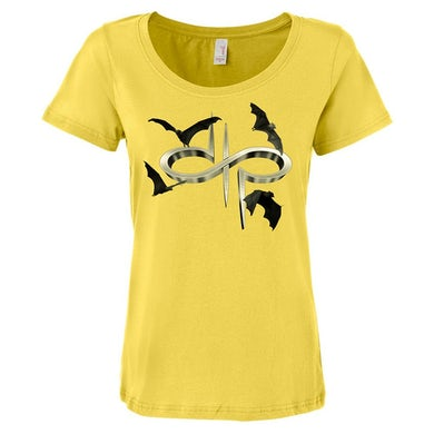 DTP Bats Logo Ladies Scoop T-shirt