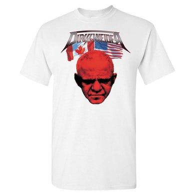 DIRKSCHNEIDER Flags and Tour Dates White T-Shirt
