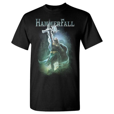 HAMMERFALL Hammer High Black T-Shirt