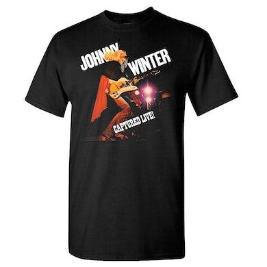JOHNNY WINTER Captured Live T-Shirt