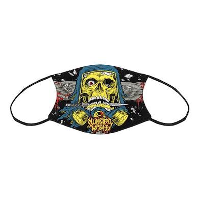 MUNICIPAL WASTE Schaller Skull Sublimated Facemask
