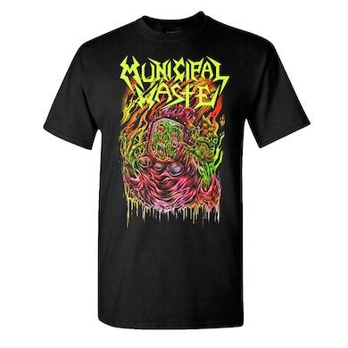 MUNICIPAL WASTE Skinner Black T-Shirt