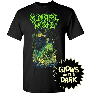 Glow Shark Black T-Shirt