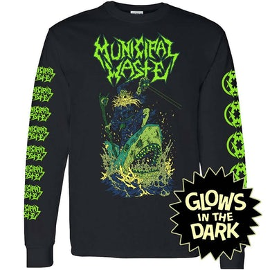Glow Shark Black Longsleeve