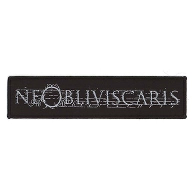 NE OBLIVISCARIS Silver Logo Patch