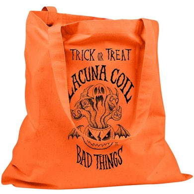 Trick or Treat Bad Things Tote