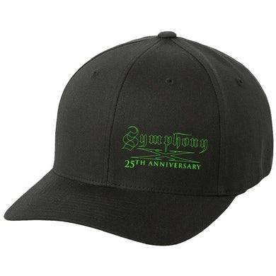 SYMPHONY X 25th Anniversary - Green Logo Flex Fit Hat