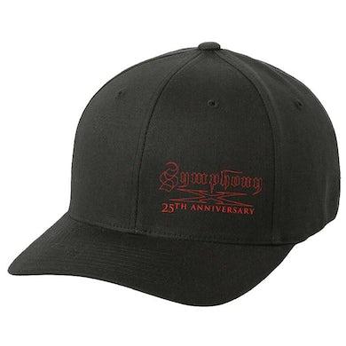 SYMPHONY X 25th Anniversary - Red Logo Flex Fit Hat