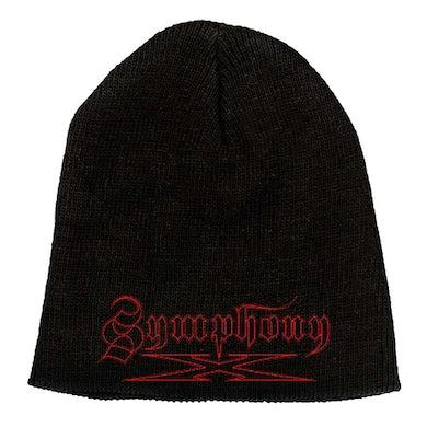 """SYMPHONY X Red Logo 9"""" Beanie"""