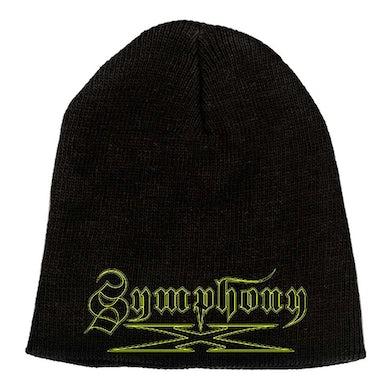"""SYMPHONY X Yellow Logo 9"""" Beanie"""