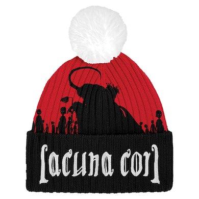 LACUNA COIL Naughty Christmas Pom Beanie