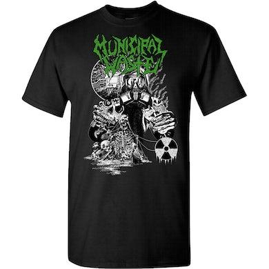 MUNICIPAL WASTE Biotech Gasmask T-Shirt