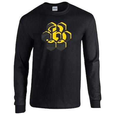 Honeycomb B Long Sleeve - Black