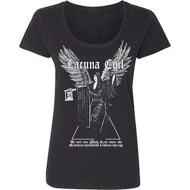 LACUNA COIL Embrace the Rage Ladies T-Shirt