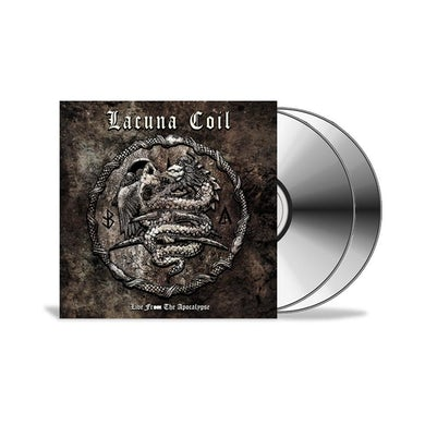 LACUNA COIL Live from the Apocalypse Limited Edition CD & DVD