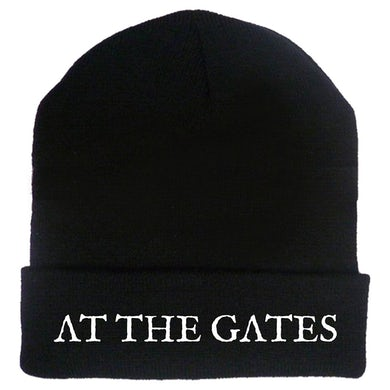 AT THE GATES White Logo Beanie