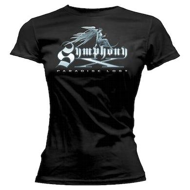 SYMPHONY X Paradise Lost Angel Logo Ladies T-Shirt