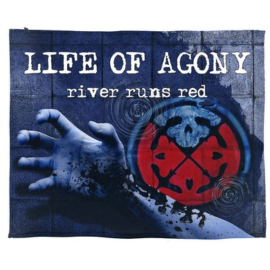 River Runs Red Blanket