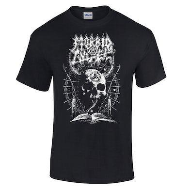 MORBID ANGEL White Horned Skull T-Shirt