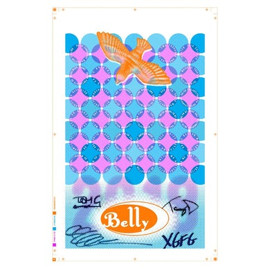 BELLY Signed 2018 Dove Tour Poster