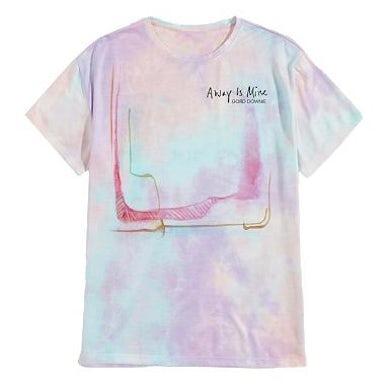 The Tragically Hip GORD DOWNIE Away Is Mine Tie-Dye T-Shirt