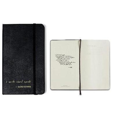 The Tragically Hip GORD DOWNIE Moleskin Notebook