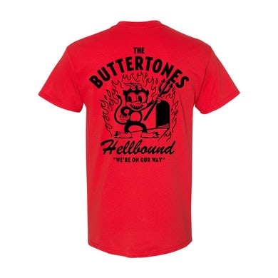 The Buttertones HELLBOUND TEE RED PREORDER