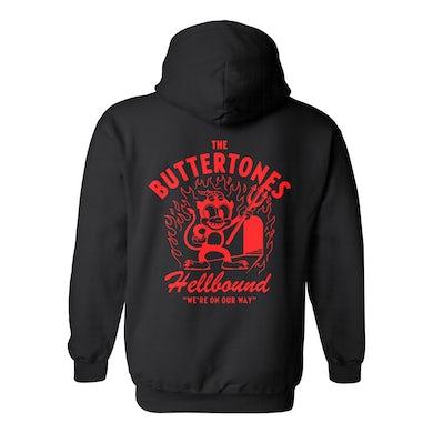 The Buttertones HELLBOUND HOODIE BLACK PREORDER