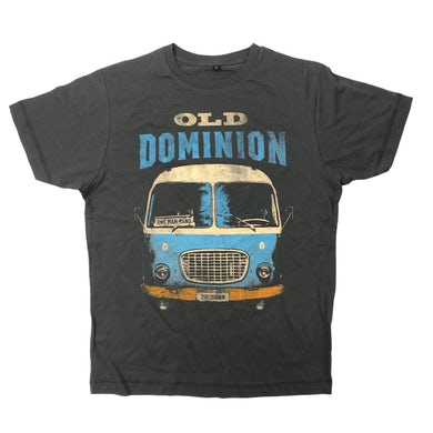 One Man Band Tour Bus Shirt CHARCOAL