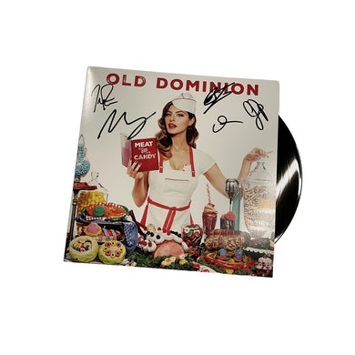 Old Dominion Meat and Candy Autographed Vinyl