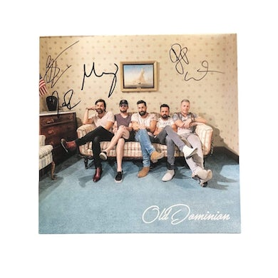 Old Dominion Self Titled Autographed Vinyl