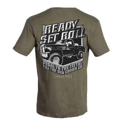Chase Rice Ready Set Roll Green Tee
