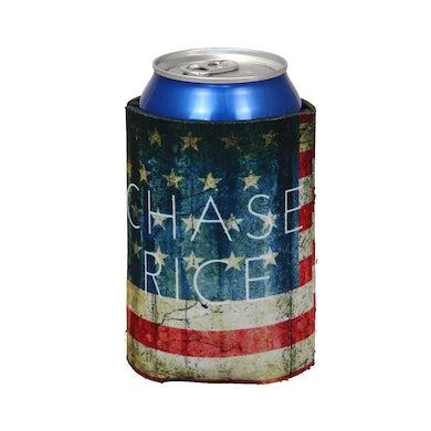 Chase Rice American Flag Koozie