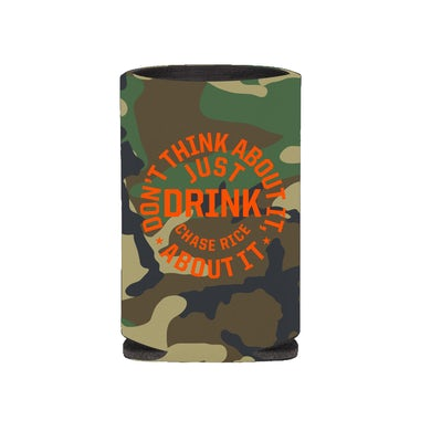 Chase Rice Just Drink Camo Koozie