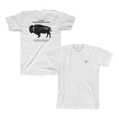 Chase Rice Twin Eagles Creek Farm Tour Shirt