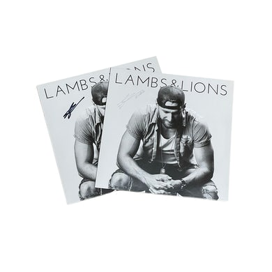 Chase Rice Lambs and Lions Autographed Vinyl