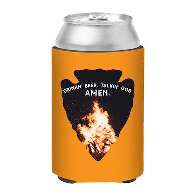 Chase Rice Drinkin Beer Talkin God AMEN Koozie