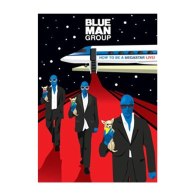 Blue Man Group Megastar DVD