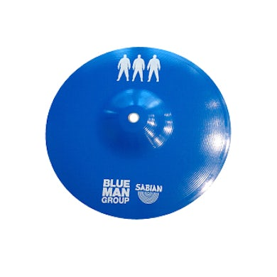 Blue Man Group Logo Cymbal