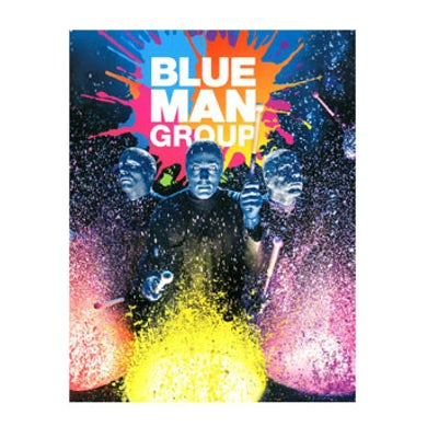 Blue Man Group Souvenir Program Book
